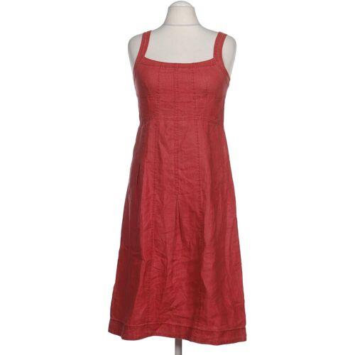 Simclan Damen Kleid rot Leinen DE 38