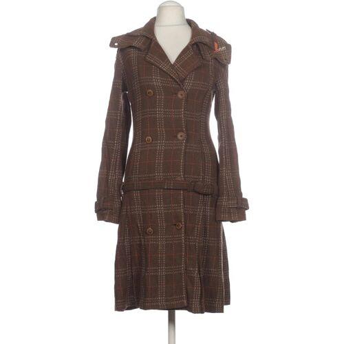 Skunkfunk Damen Mantel braun Wolle Viskose INT S