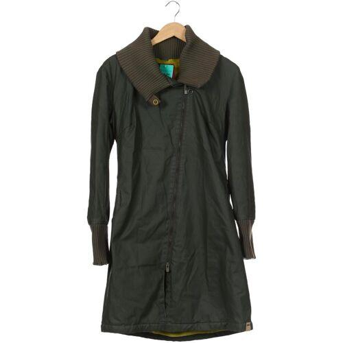 Skunkfunk Damen Mantel grün kein Etikett INT S