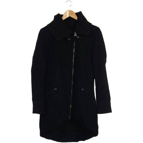 Skunkfunk Damen Mantel schwarz Synthetik INT S