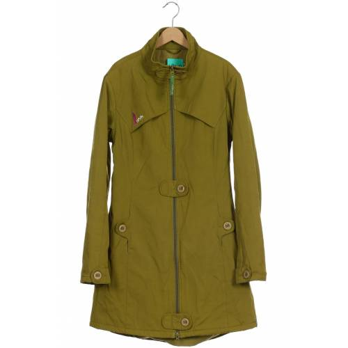Skunkfunk Damen Mantel grün Baumwolle INT L