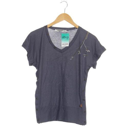 Skunkfunk Damen T-Shirt blau kein Etikett INT M