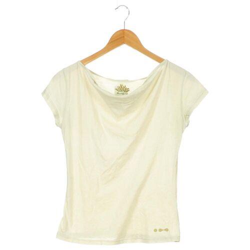 Skunkfunk Damen T-Shirt beige kein Etikett INT XS