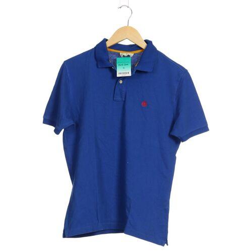 Springfield Damen Poloshirt blau Baumwolle INT M
