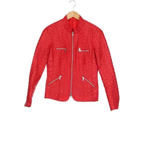 Steilmann Damen Jacke rot Synthetik DE 36