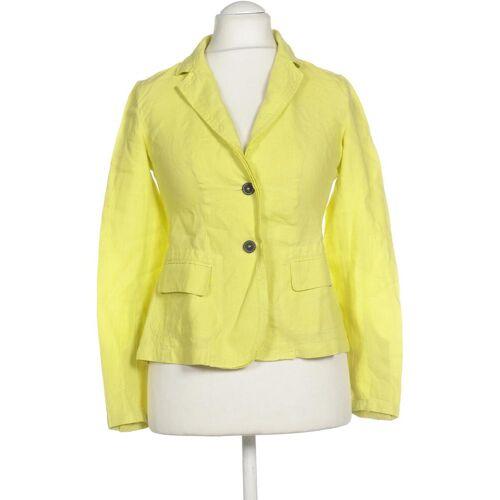 Strenesse Damen Blazer gelb Leinen DE 38