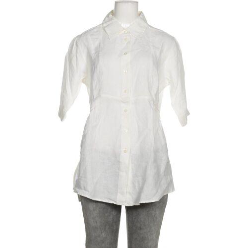 Strenesse Damen Bluse weiß Leinen DE 36
