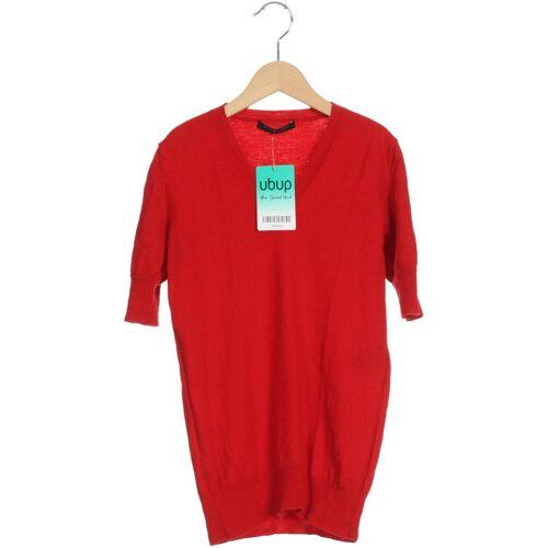 Strenesse Damen Pullover rot Wolle DE 34