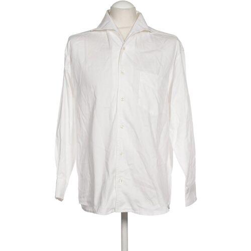 Theo Wormland Damen Bluse weiß Baumwolle INT S