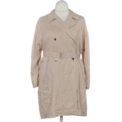 Topshop Damen Mantel beige Viskose EUR 44