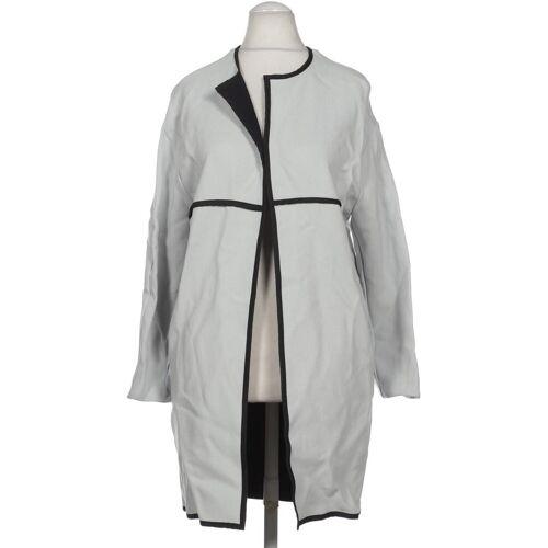 Topshop Damen Mantel grau Viskose EUR 36