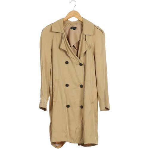 Topshop Damen Mantel beige Viskose EUR 36