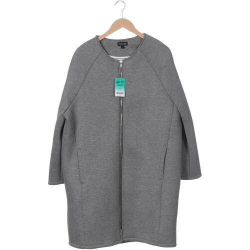 Topshop Damen Mantel grau Viskose EUR 44