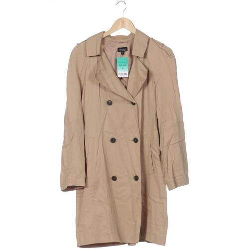 Topshop Damen Mantel beige Viskose EUR 40