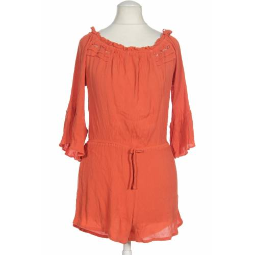 Topshop Damen Jumpsuit/Overall orange Viskose EUR 38