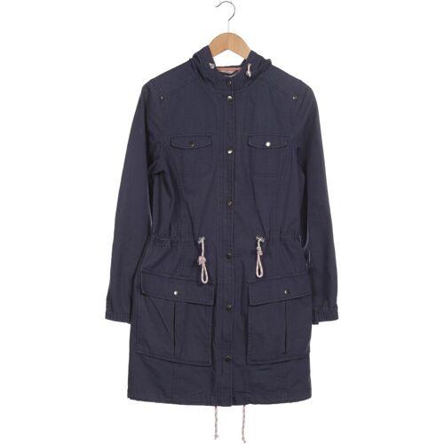 Twintip Damen Mantel blau Baumwolle INT L