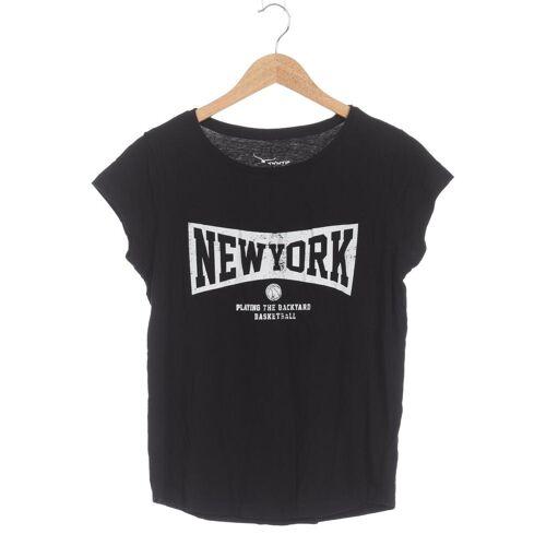 Twintip Damen T-Shirt schwarz Baumwolle INT L