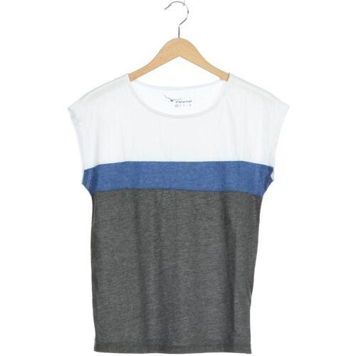 Twintip Damen T-Shirt grau Baumwolle Synthetik INT XS
