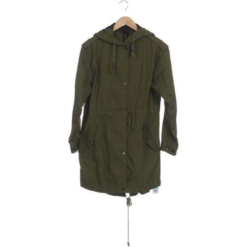 Urban Outfitters Damen Mantel grün Baumwolle INT S