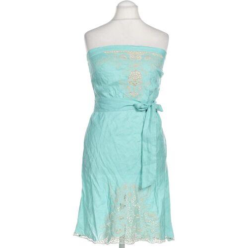 WAREHOUSE Damen Kleid grün Leinen DE 42