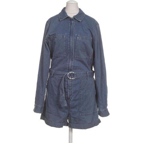 Weekday Damen Jumpsuit/Overall blau Baumwolle DE 36