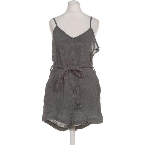 Weekday Damen Jumpsuit/Overall schwarz Viskose DE 36