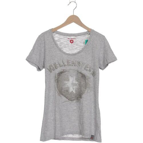 Wellensteyn Damen T-Shirt grau kein Etikett INT XS