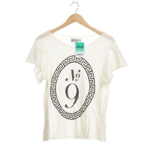Wildfox Damen T-Shirt beige kein Etikett INT L