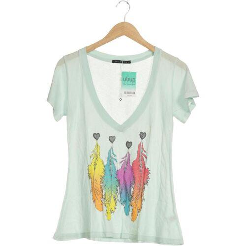 Wildfox Damen T-Shirt grün Baumwolle INT S