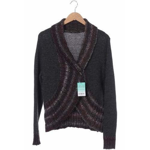 Woolrich Damen Strickjacke grau Wolle INT XL