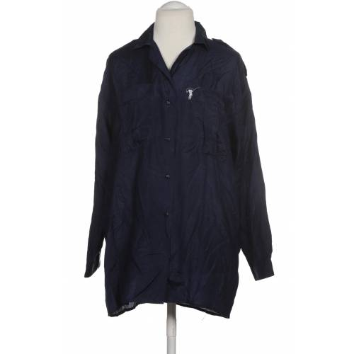 YAYA Damen Bluse blau Seide DE 38