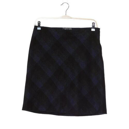 ZAFFIRI Damen Rock blau Synthetik Wolle DE 40