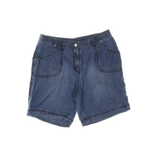 ZAFFIRI Damen Shorts blau Viskose DE 40