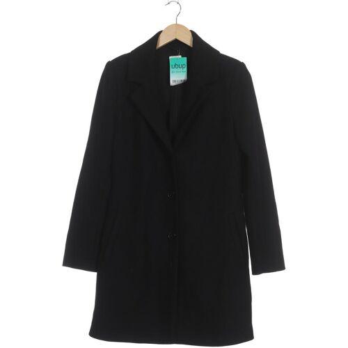 Zalando Essentials Damen Mantel schwarz Synthetik Wolle Viskose INT L