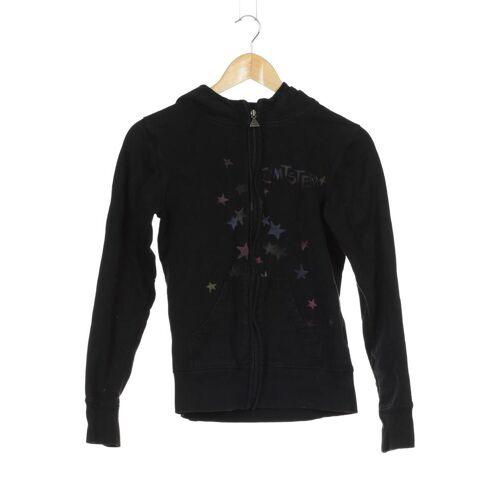 Zimtstern Damen Kapuzenpullover schwarz Baumwolle INT S
