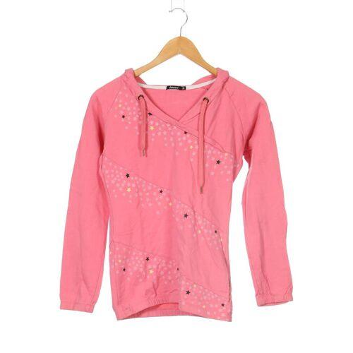 Zimtstern Damen Kapuzenpullover pink Baumwolle INT S