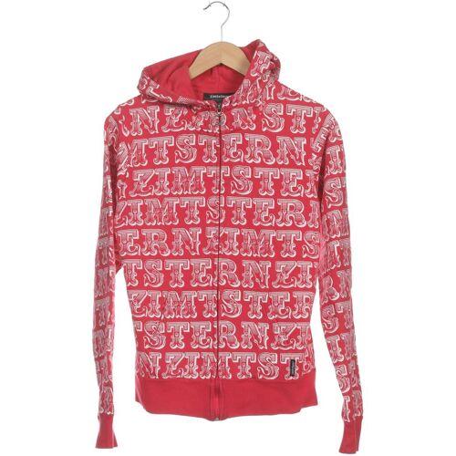 Zimtstern Damen Kapuzenpullover pink Baumwolle INT L