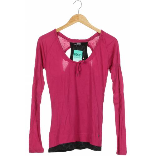 Zimtstern Damen Langarmshirt pink Baumwolle Viskose INT M