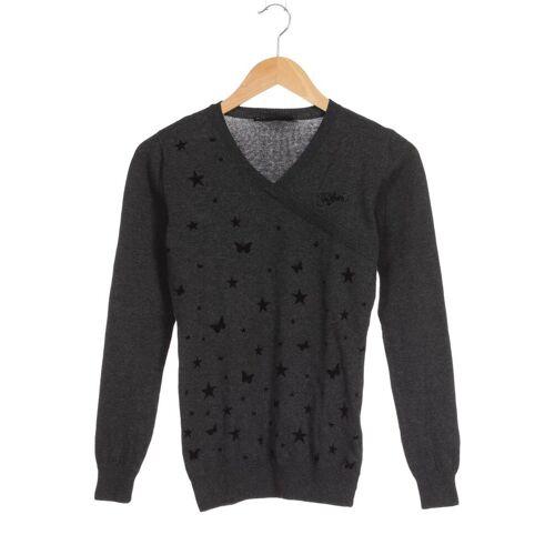 Zimtstern Damen Pullover grau Baumwolle INT S