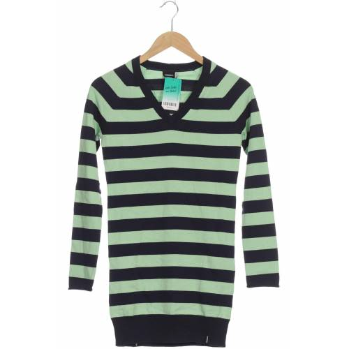 Zimtstern Damen Pullover grün Baumwolle INT XS