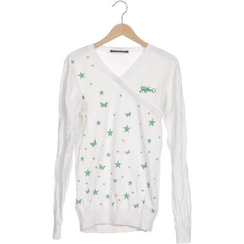Zimtstern Damen Pullover weiß Baumwolle INT S