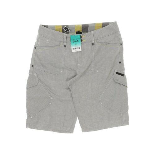 Zimtstern Damen Shorts grau Baumwolle INT S