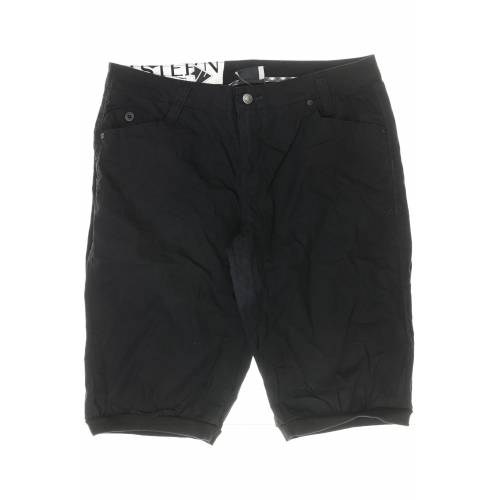 Zimtstern Damen Shorts schwarz Baumwolle INT L