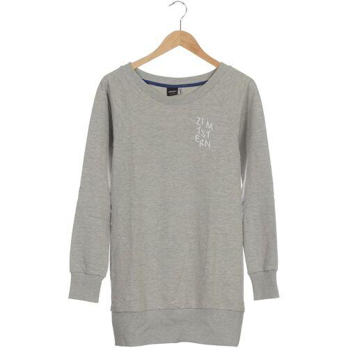 Zimtstern Damen Sweatshirt grau Elasthan Baumwolle INT S