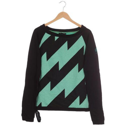 Zimtstern Damen Sweatshirt grün Baumwolle INT L