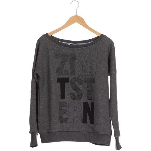 Zimtstern Damen Sweatshirt grau Baumwolle INT S