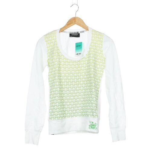 Zimtstern Damen Sweatshirt grün Baumwolle INT S