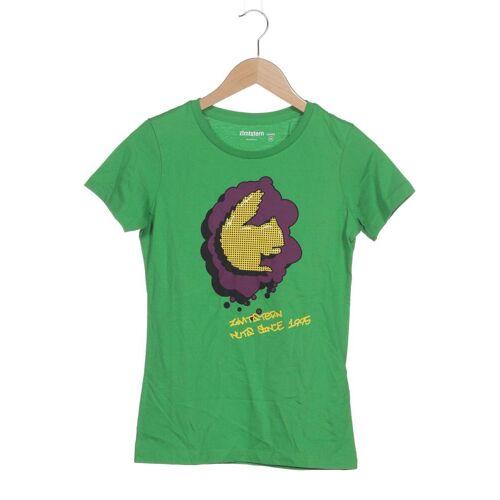 Zimtstern Damen T-Shirt grün Baumwolle INT XS