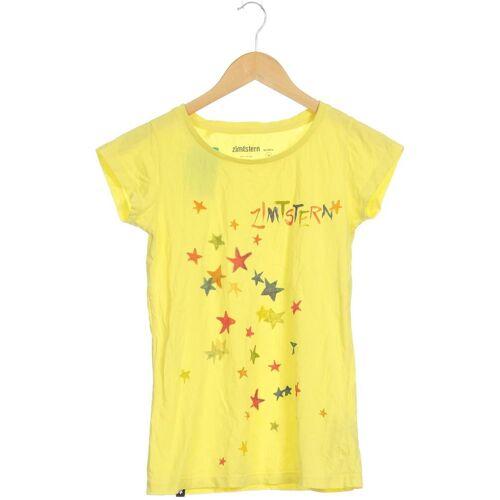 Zimtstern Damen T-Shirt gelb Baumwolle INT M
