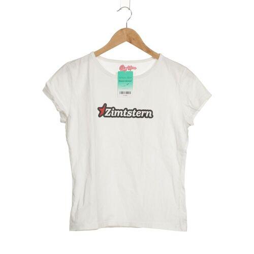 Zimtstern Damen T-Shirt weiß Baumwolle INT L